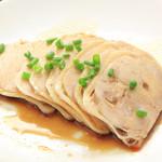 菊華飲茶館 - 蒸し鶏の冷菜