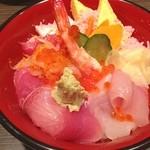 鮨 後楽 - ランチ。ちらし寿司。