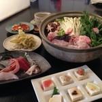 居酒屋 こいさん - 料理写真:大好評のアンコウ鍋コースです。
