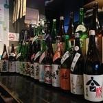 居酒屋 こいさん - 純米酒は常時10種類以上用意しております。お燗も充実!