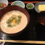ryouriyagekkou - 丹波芋のとろろご飯