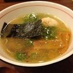 花壱 - 1日限定10食の鶏塩ら~麺(750円)