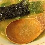 花壱 - 1日限定10食の鶏塩ら~麺(750円)スープ