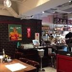 エベレストMOMO - 201404 エベレスト  店内(座席より右まわり)⇒厨房が見えます