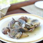 ハナカフェ - おすすめメニューに有ったアサリの白ワイン蒸し