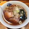 萬龍軒 - 料理写真:「半チャンラーメン」600円のラーメン