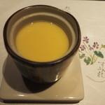 26311137 - クリームチーズが入った茶わん蒸し、濃厚なクリームチーズが適量、旨かった。