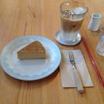 カフェ カチョウフウゲツ - ICEカフェラテ