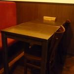 ラ カレッタ - ☆奥のテーブル席☆