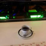 カフェ ココア - ステンドグラス綺麗!