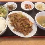 ハンサラン - プルコギ定食(日替わり)