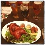 フットニック - サッカーファンの聖地でビール飲み比べ。ジャックポーター?とかいうのが一番のお気に入り。