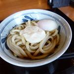 香の川製麺 - 2014.04 とろ玉うどん(温)390円