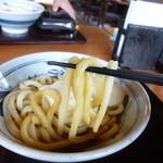 香の川製麺 - 2014.04 麺リフト(混ぜる前)