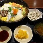 26316465 - 【ランチメニュー 海鮮丼 ¥950】