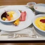Nishitetsugurandohoteru - 朝食 - 時間がなくてちょっとだけ食べました