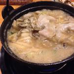 隠れ家 - 豚キムチ鍋(確かハーフサイズ)