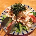 隠れ家 - 明太マヨネーズの大根サラダ