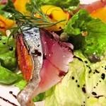 ファッティーズ - 2014/Apr 軽く〆た鯖とインカのめざめのロースト