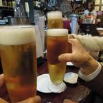 アジト - 先ずは乾杯!