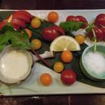 アジト - トマト四種盛り