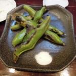 アジト - 焼きそら豆