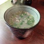 串粋 - セットの鶏スープ