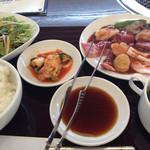 26325635 - スタミナ御前S ¥1200                       ご飯とスープはおかわり自由