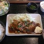 ワインバル5丁目6番地 - ポークジンジャー定食 850円