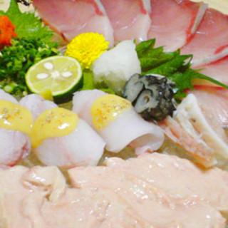 金沢にいながら北陸最高峰、富山の海鮮を味わう。