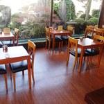 谷常 - 店内にはカフェスペースが在ります