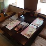 Umenohana - 子供連れにうれしい個室♡ここは掘りごたつ席です。