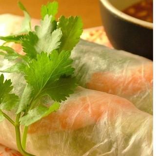 本場のベトナム料理と創作アジア料理の専門店
