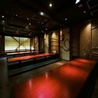 大人たちの隠れ家的な個室から大人数様の宴会場まで『完全個室』
