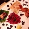 Sumishin - 料理写真:鶏刺し:心臓、ズリ、胸、白レバー