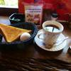 支留比亜 - 料理写真:アメリカンコーヒーとモーニングサービス