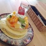カフェ アリエッティ - ごほうびパンケーキ