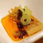 飄香 - ハチノスの豆豉辛みソース