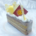 26340601 - ヘーゼルナッツとオレンジのチーズケーキ390円