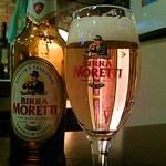 Italia Wine & Bar Cla' - イタリアビールといえばモレッティでしょ♪