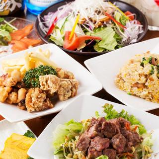 ◆絶品創作料理◆オリジナル料理を含む飲み放題付プラン多数!