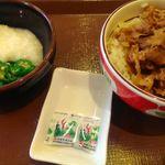 すき家 - 山かけオクラ丼