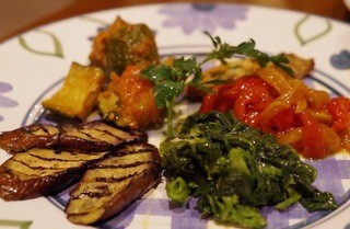 パルテノペ 恵比寿店 - 野菜の前菜の盛合せ