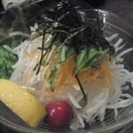 福来呂 - 大根サラダ。480円くらいだったでしょうか。