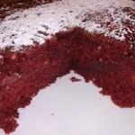 ファンキービーツーガーデン - レッドベルベッドパンケーキ 赤みのある生地が何とも不思議