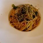 26348777 - 牡蠣とキャベツのスパゲッティ