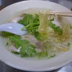 揚子江ラーメン 総本店 - 極細麺