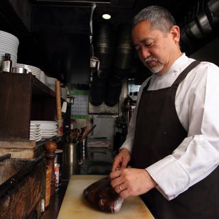 フレンチ一筋の筋金入りの料理人斉藤弘吉シェフ