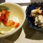 麦酒庵 恵比寿店 - クリームチーズとフルーツ