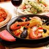 オールドヒッコリー - 料理写真:魚介のパエリア
